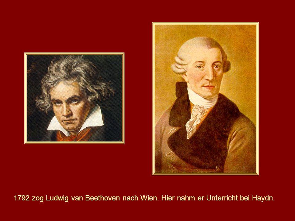 1792 zog Ludwig van Beethoven nach Wien
