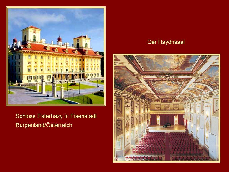Schloss Esterhazy in Eisenstadt Burgenland/Österreich