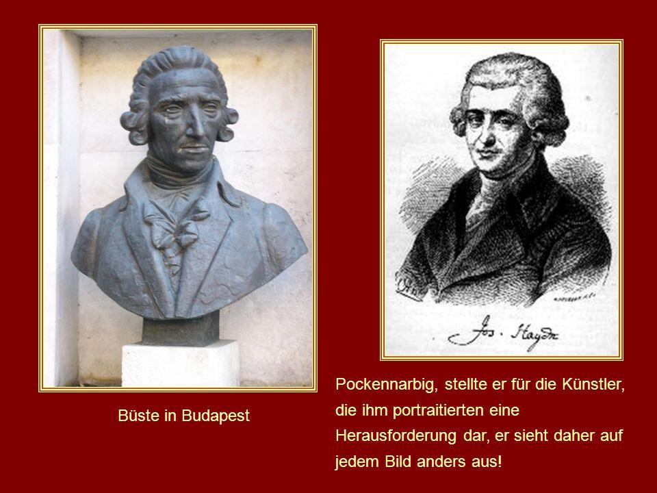 Pockennarbig, stellte er für die Künstler, die ihm portraitierten eine