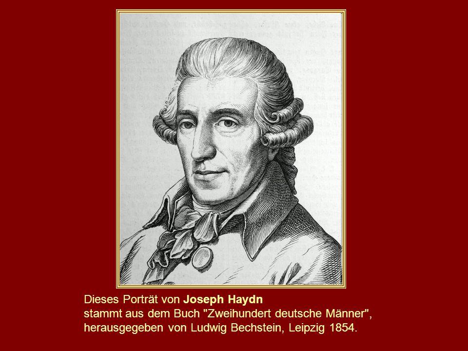 Dieses Porträt von Joseph Haydn