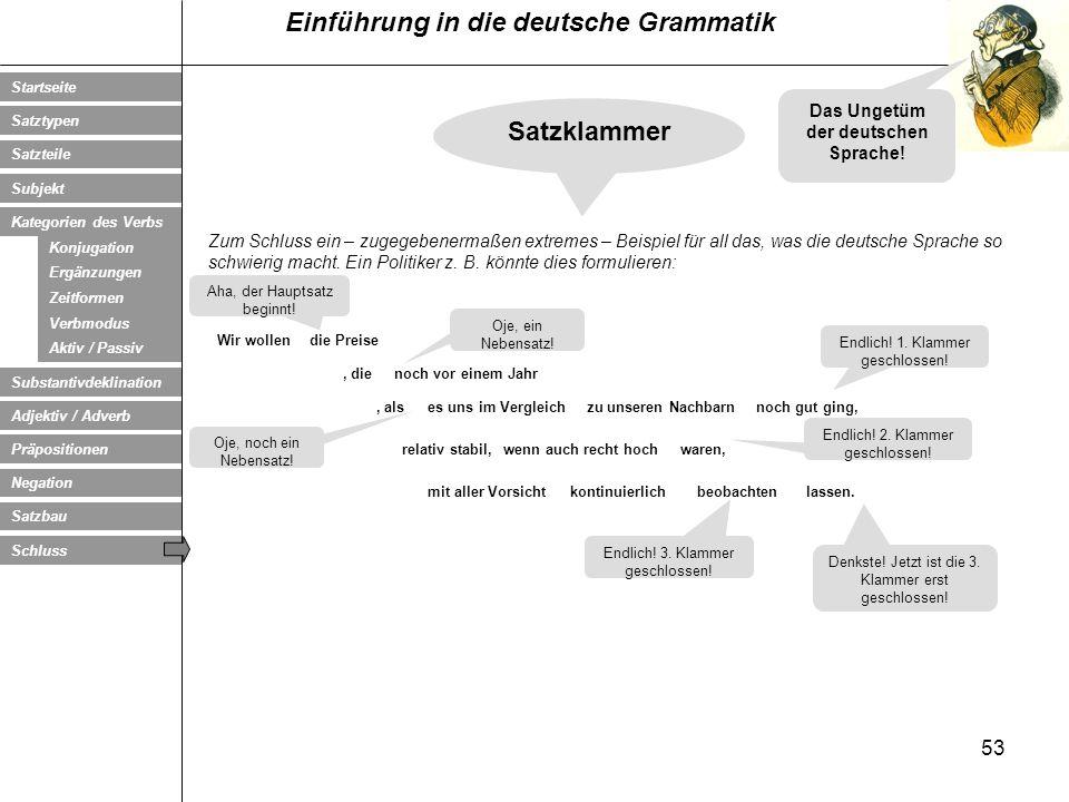 Das Ungetüm der deutschen Sprache!