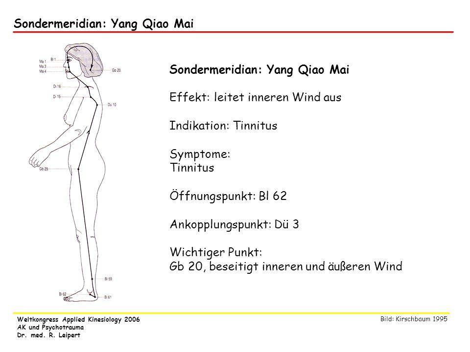 Sondermeridian: Yang Qiao Mai