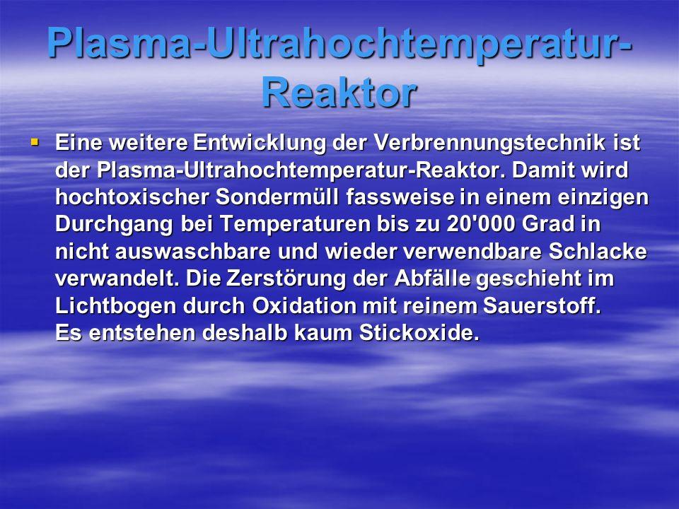 Plasma-Ultrahochtemperatur-Reaktor