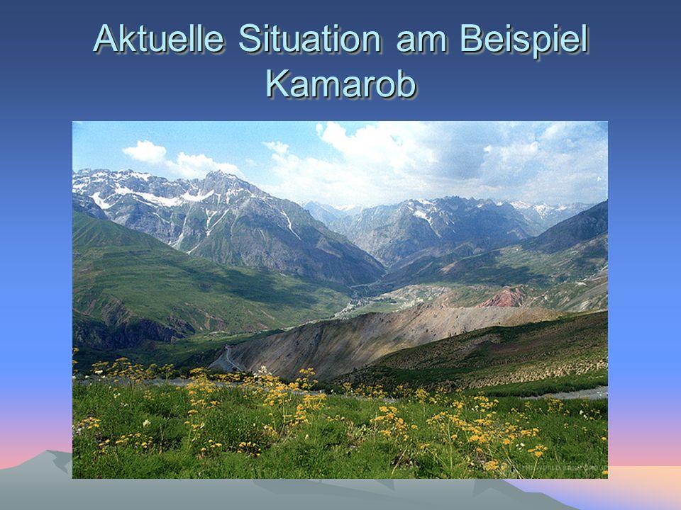 Aktuelle Situation am Beispiel Kamarob