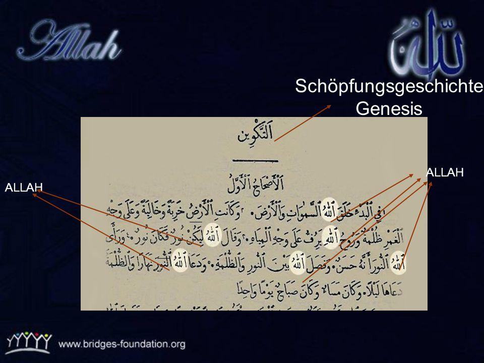 Schöpfungsgeschichte Genesis