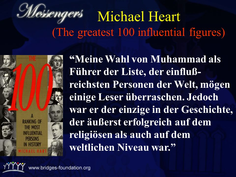 Michael Heart (The greatest 100 influential figures)