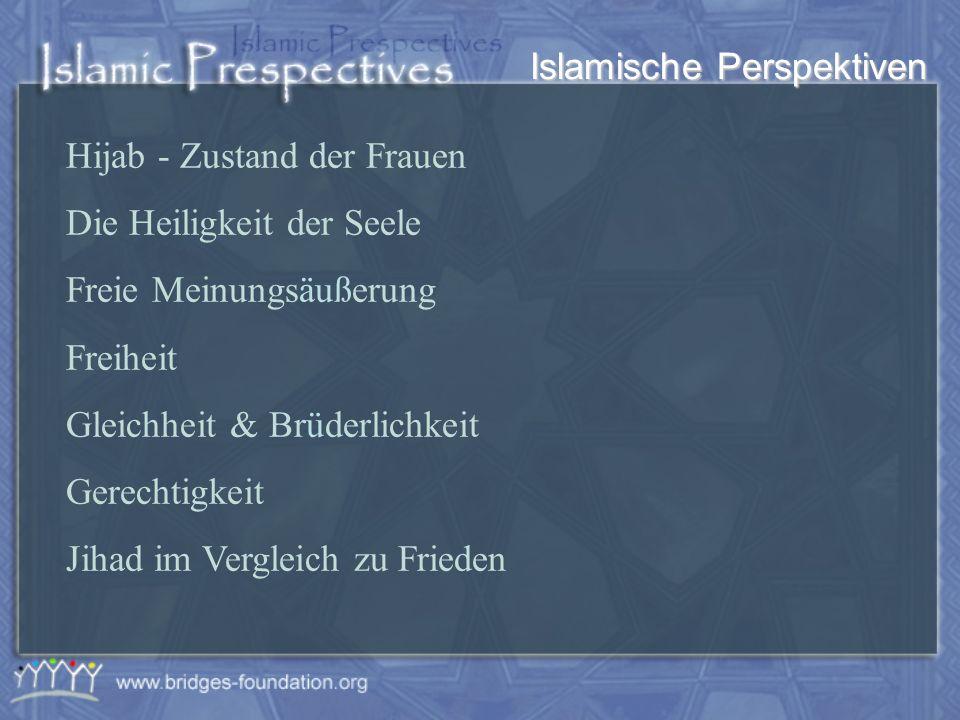 Islamische Perspektiven