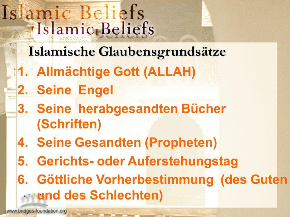Islamische Glaubensgrundsätze
