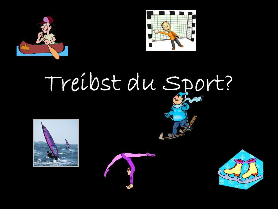 Treibst du Sport