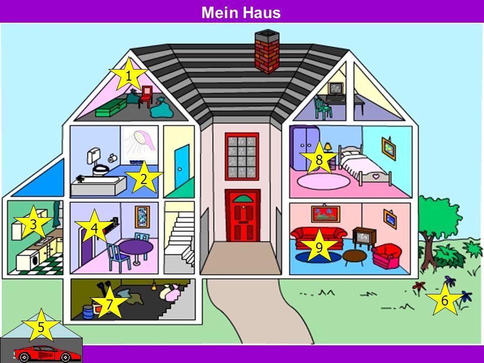 Mein Haus 1 8 2 3 4 9 6 7 5