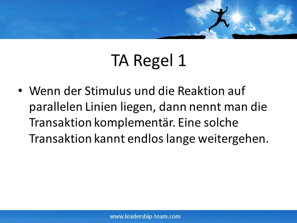 TA Regel 1