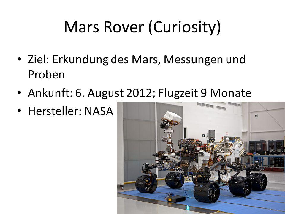 Mars Rover (Curiosity)