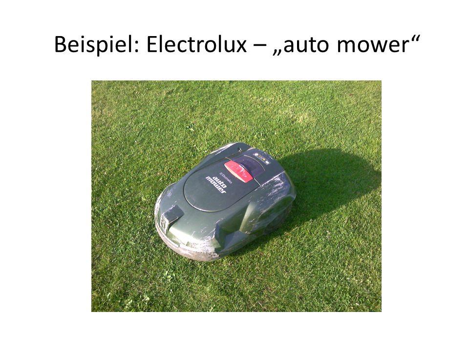 """Beispiel: Electrolux – """"auto mower"""