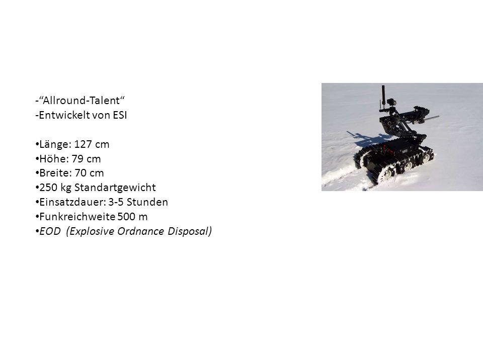 Allround-Talent Entwickelt von ESI. Länge: 127 cm. Höhe: 79 cm. Breite: 70 cm. 250 kg Standartgewicht.