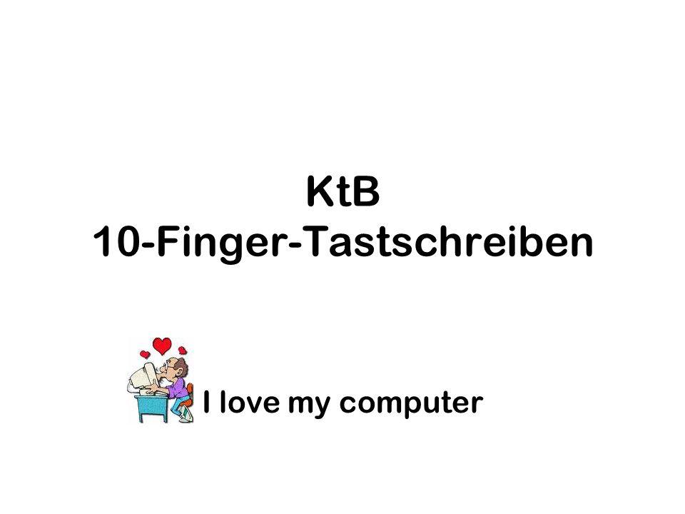KtB 10-Finger-Tastschreiben