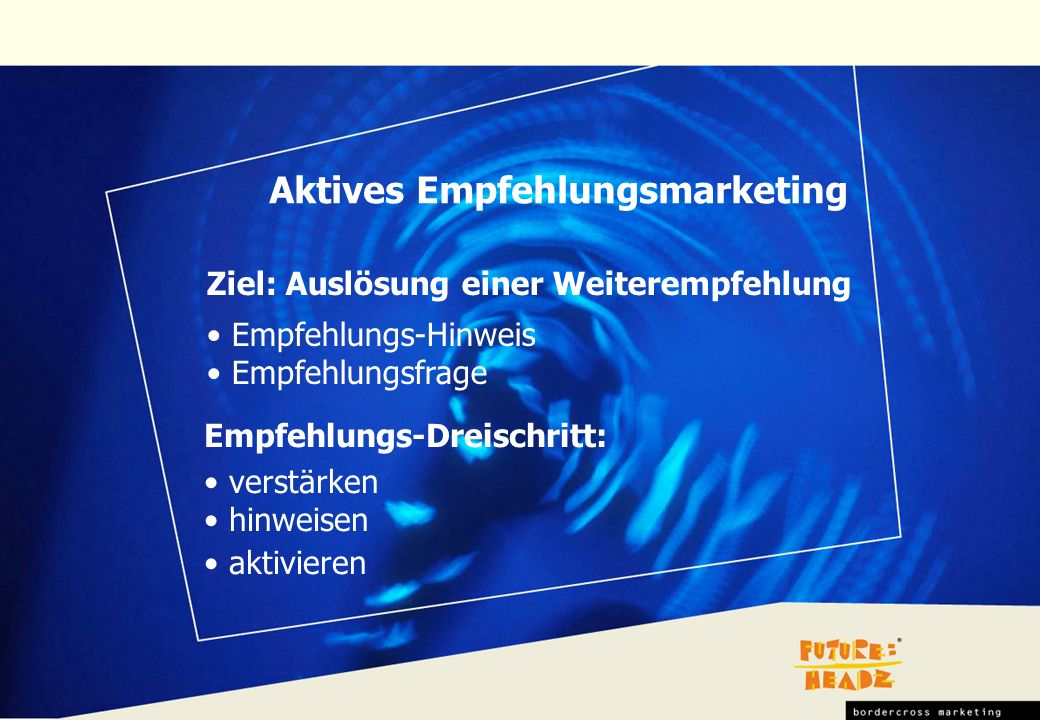 Aktives Empfehlungsmarketing