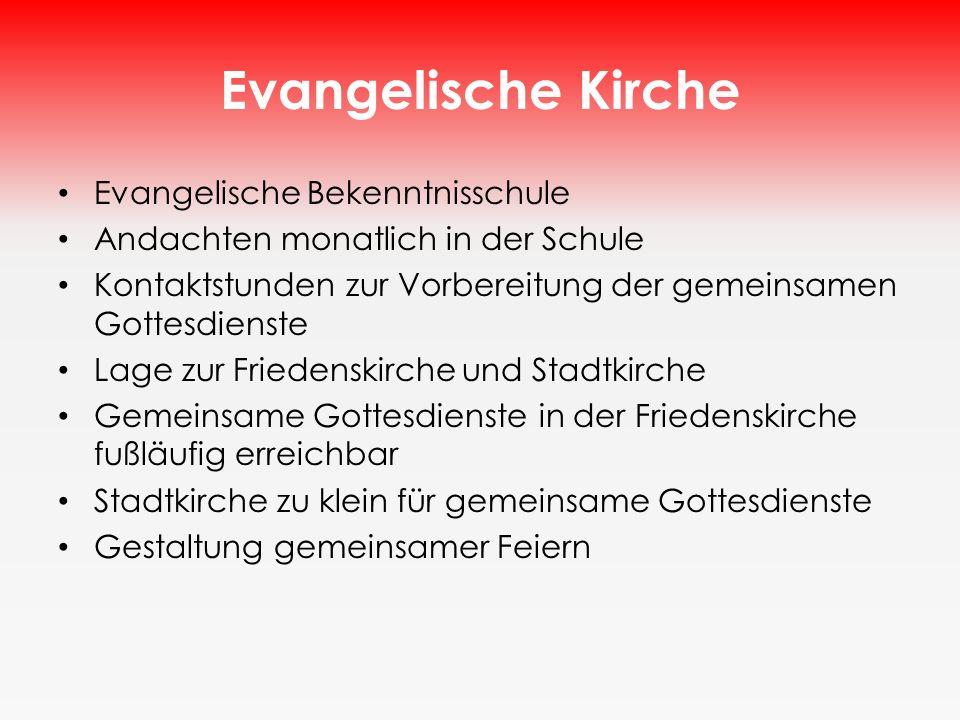 Evangelische Kirche Evangelische Bekenntnisschule