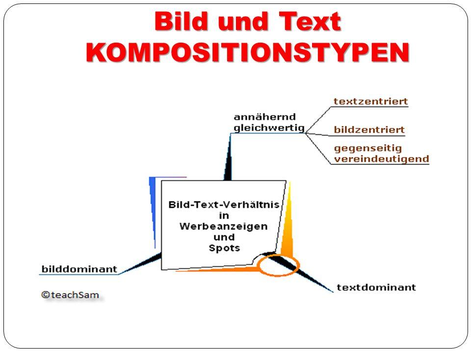 Bild und Text KOMPOSITIONSTYPEN