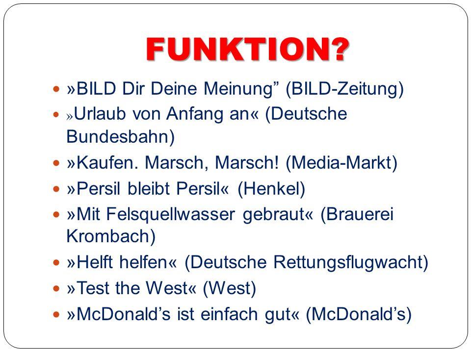 FUNKTION »BILD Dir Deine Meinung (BILD-Zeitung)