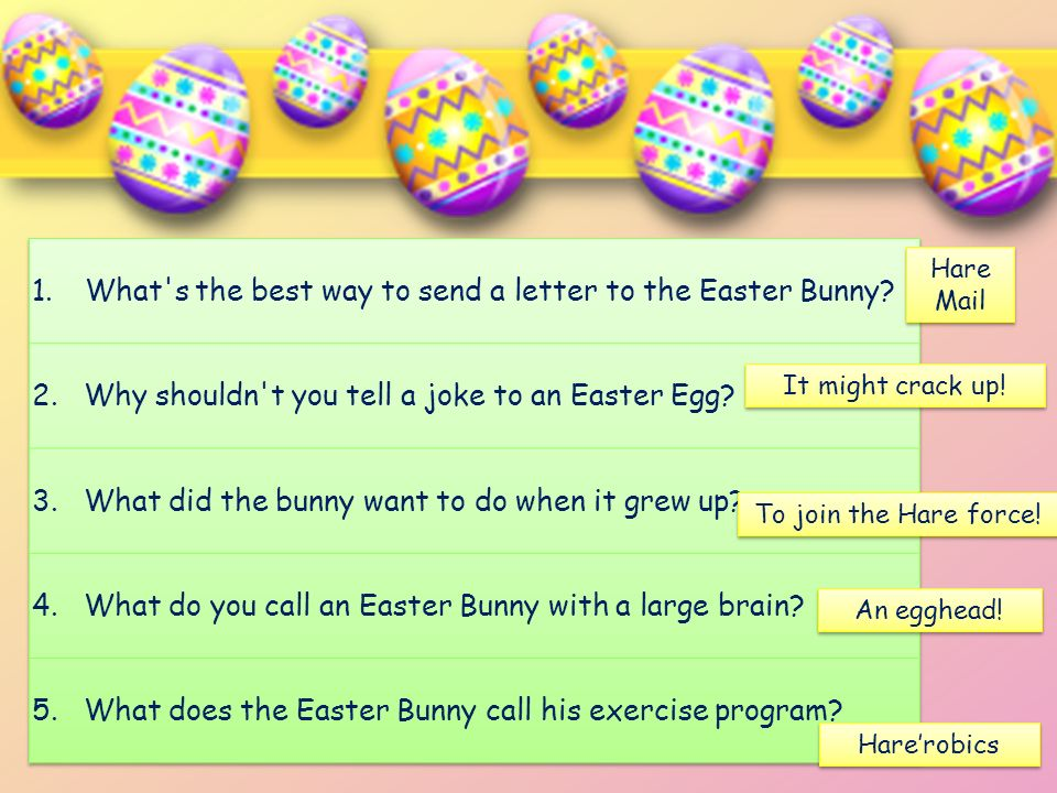 What s the best way to send a letter to the Easter Bunny
