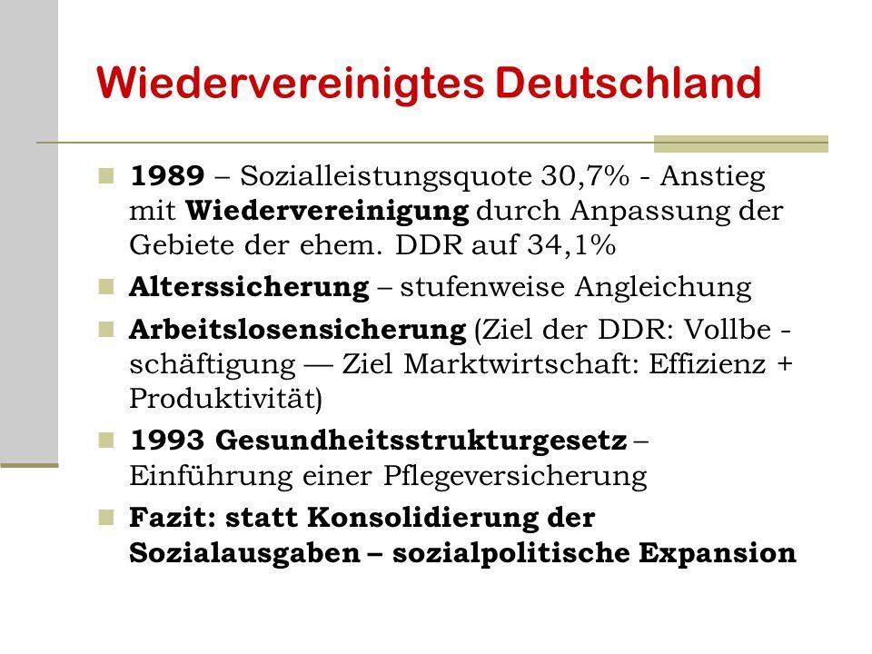 Wiedervereinigtes Deutschland