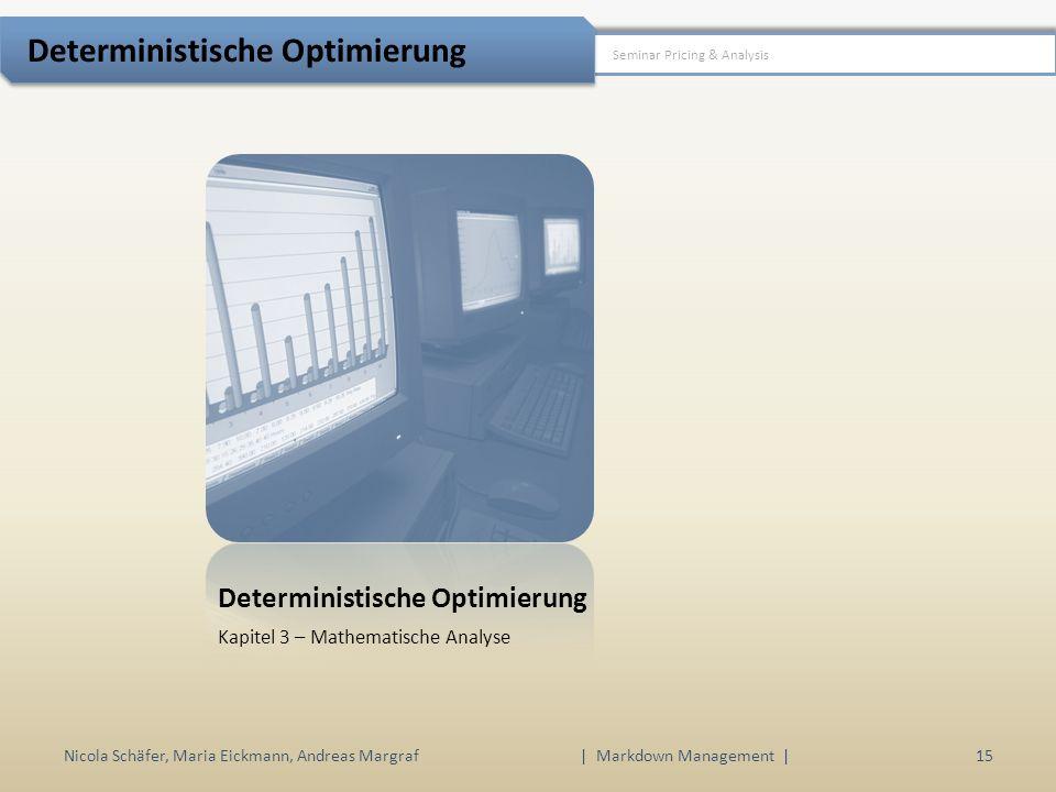Deterministische Optimierung