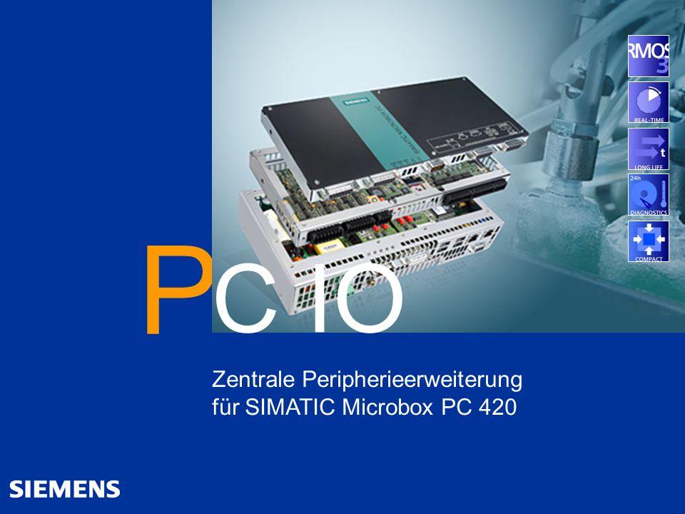 P C IO Zentrale Peripherieerweiterung für SIMATIC Microbox PC 420