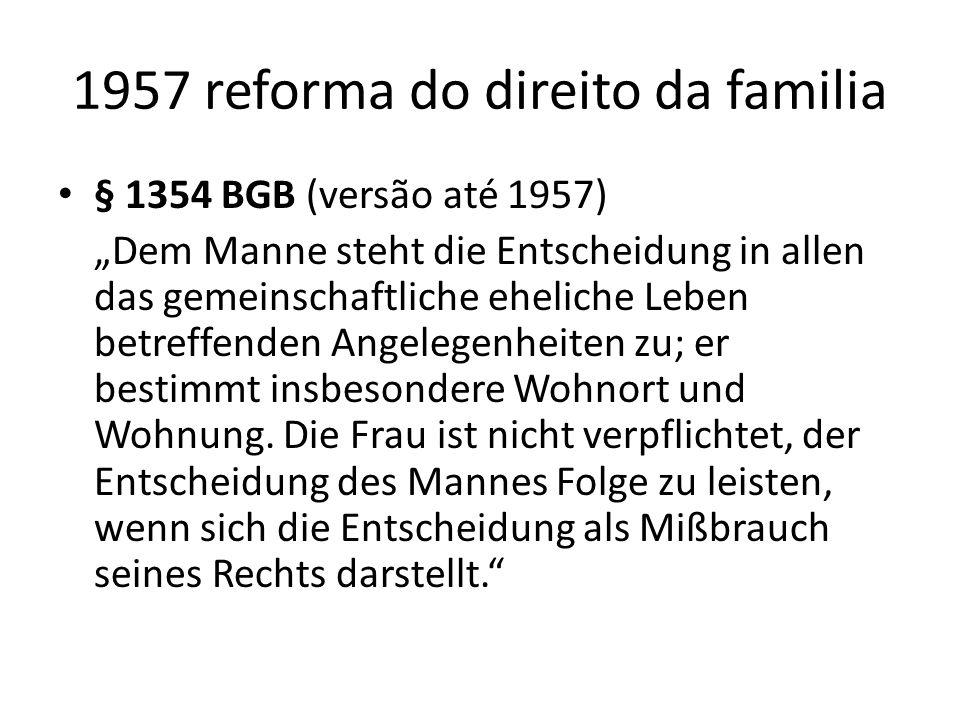 1957 reforma do direito da familia