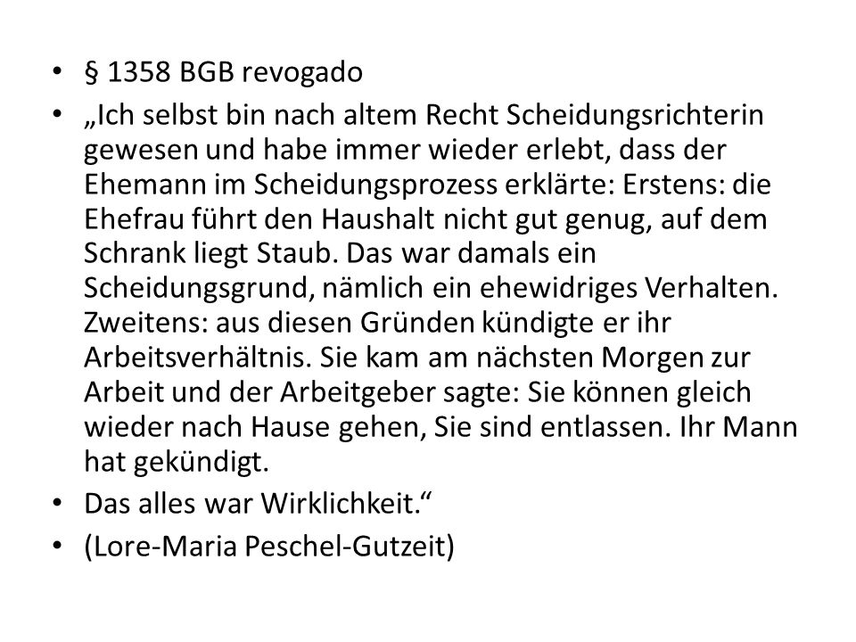 § 1358 BGB revogado