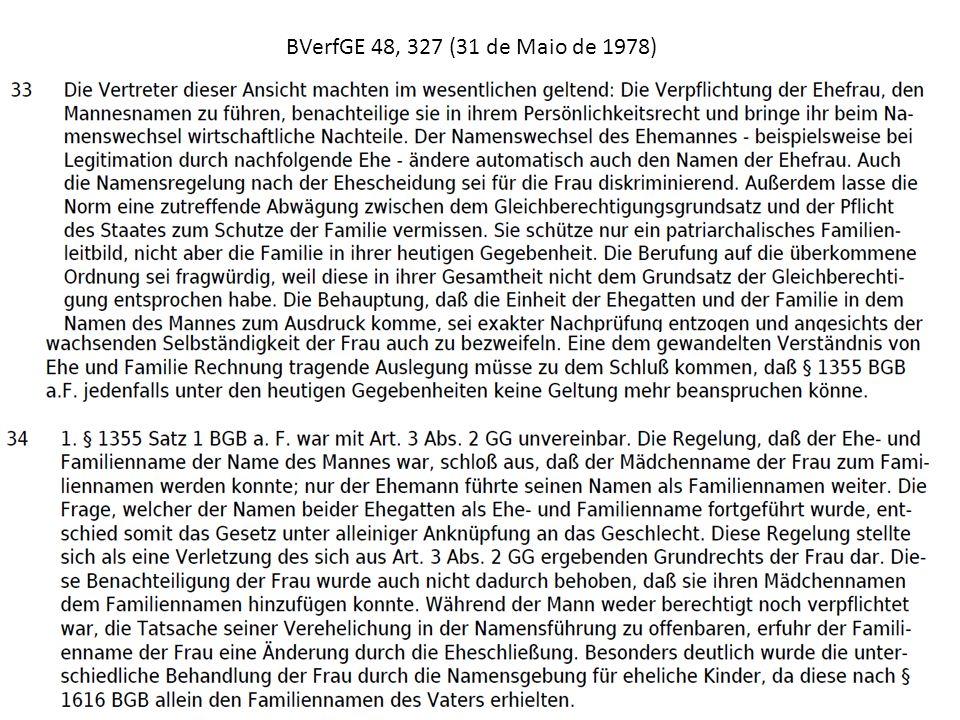 BVerfGE 48, 327 (31 de Maio de 1978)