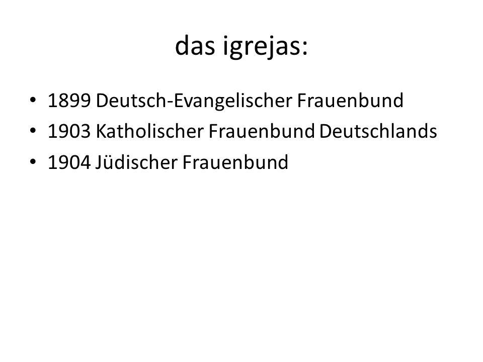 das igrejas: 1899 Deutsch-Evangelischer Frauenbund