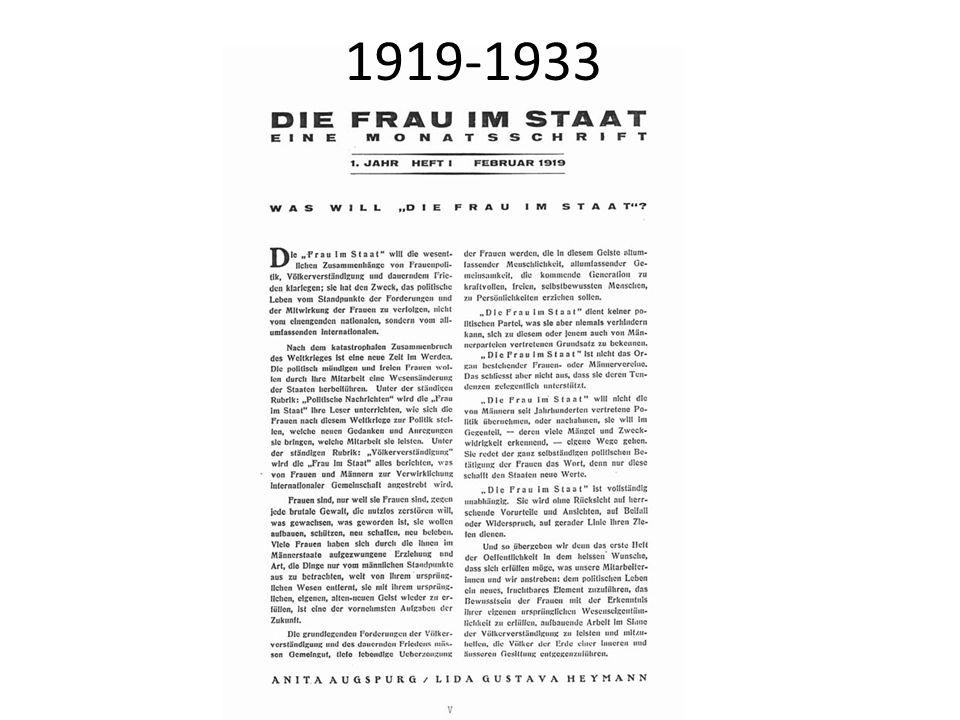 1919-1933