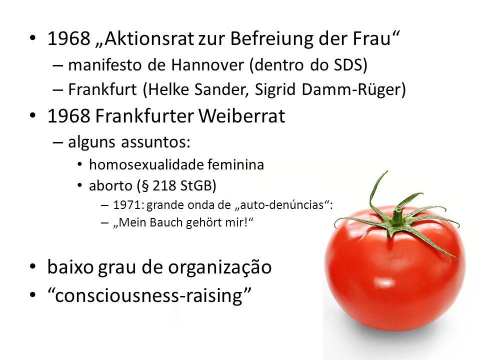 """1968 """"Aktionsrat zur Befreiung der Frau"""
