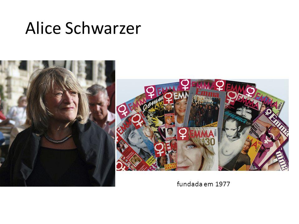 Alice Schwarzer fundada em 1977