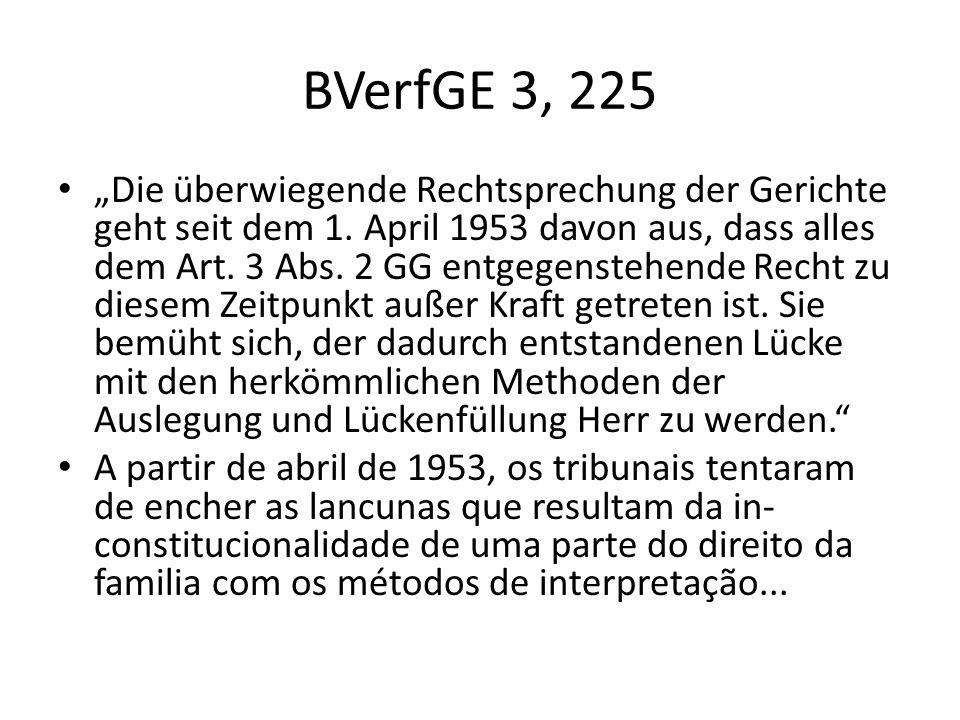 BVerfGE 3, 225