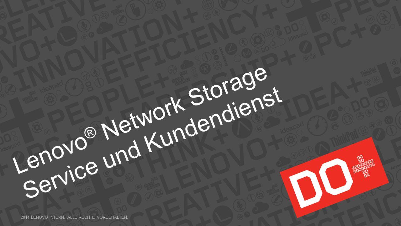 Lenovo® Network Storage Service und Kundendienst