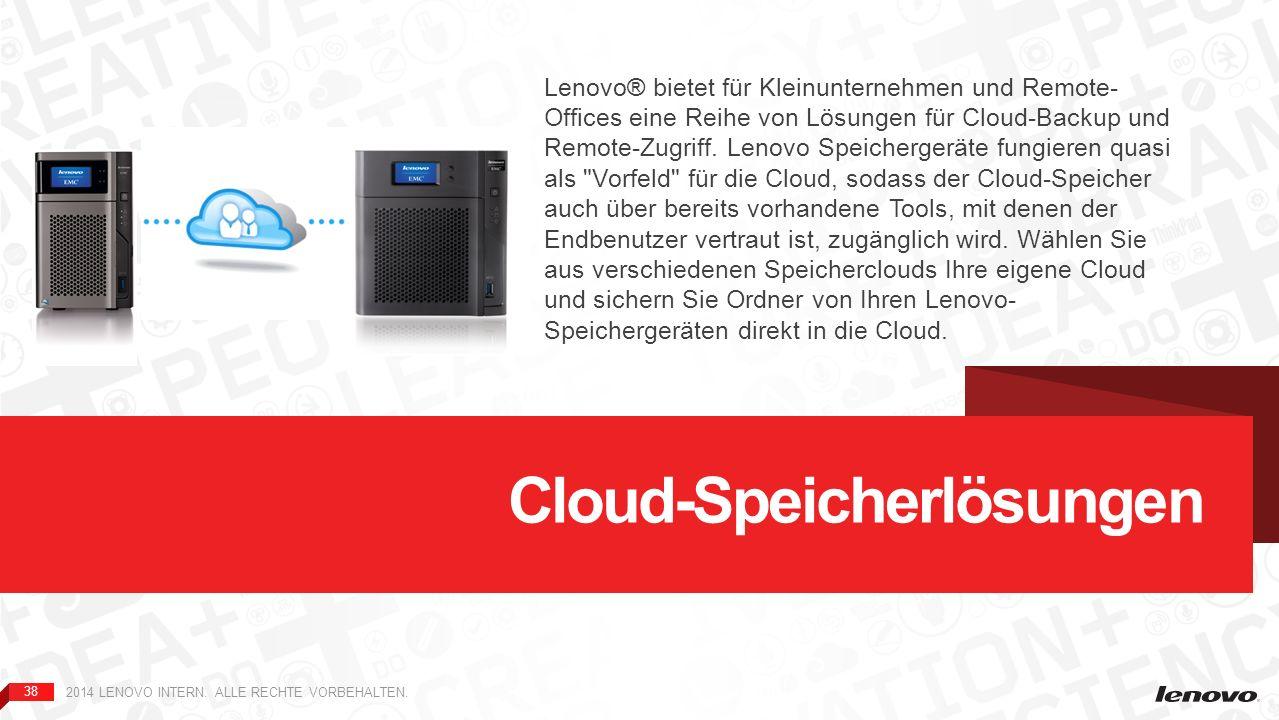 Cloud-Speicherlösungen