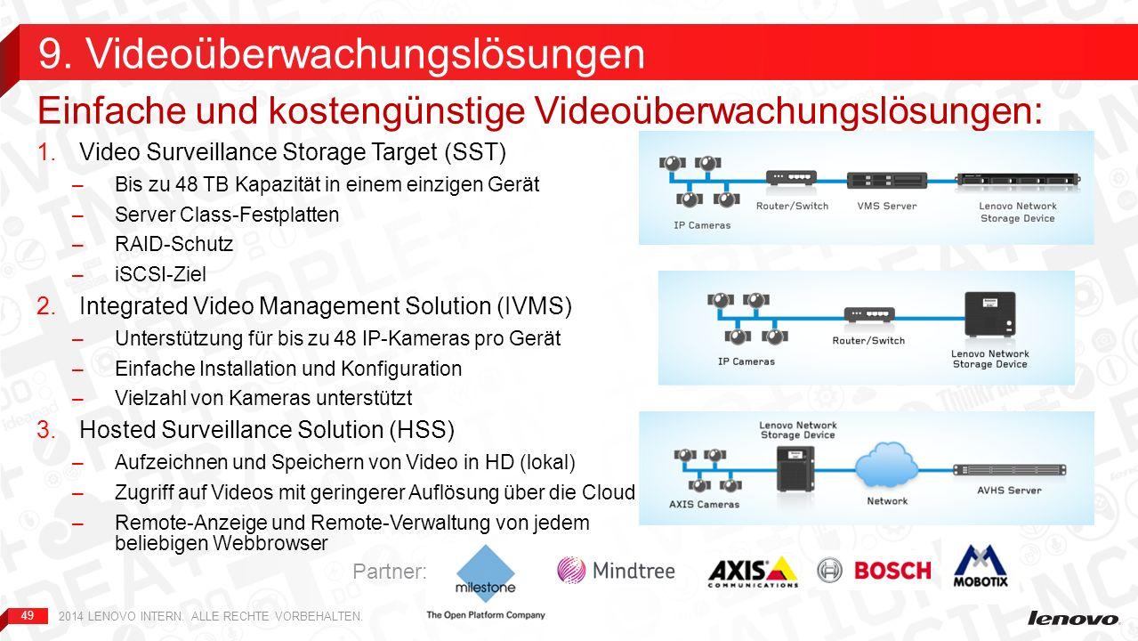 9. Videoüberwachungslösungen