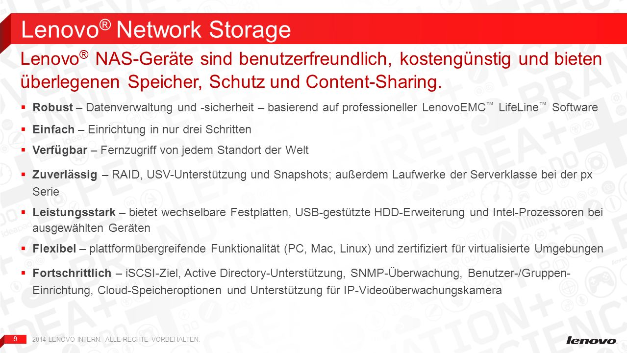 Lenovo® Network Storage