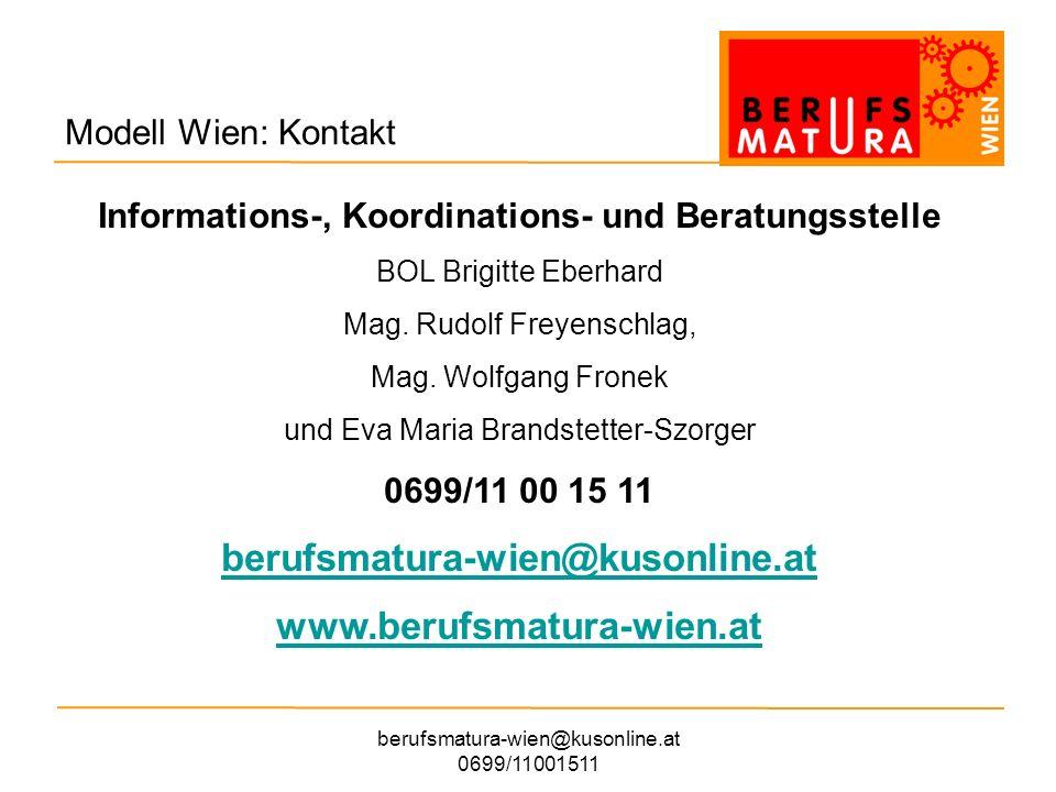 berufsmatura-wien@kusonline.at www.berufsmatura-wien.at