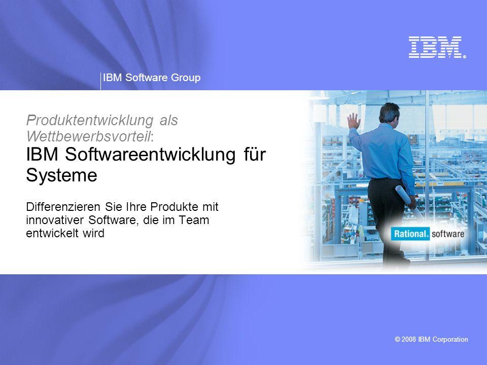 Produktentwicklung als Wettbewerbsvorteil: IBM Softwareentwicklung für Systeme