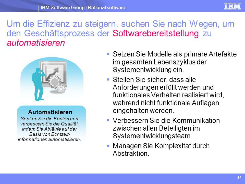 Um die Effizienz zu steigern, suchen Sie nach Wegen, um den Geschäftsprozess der Softwarebereitstellung zu automatisieren