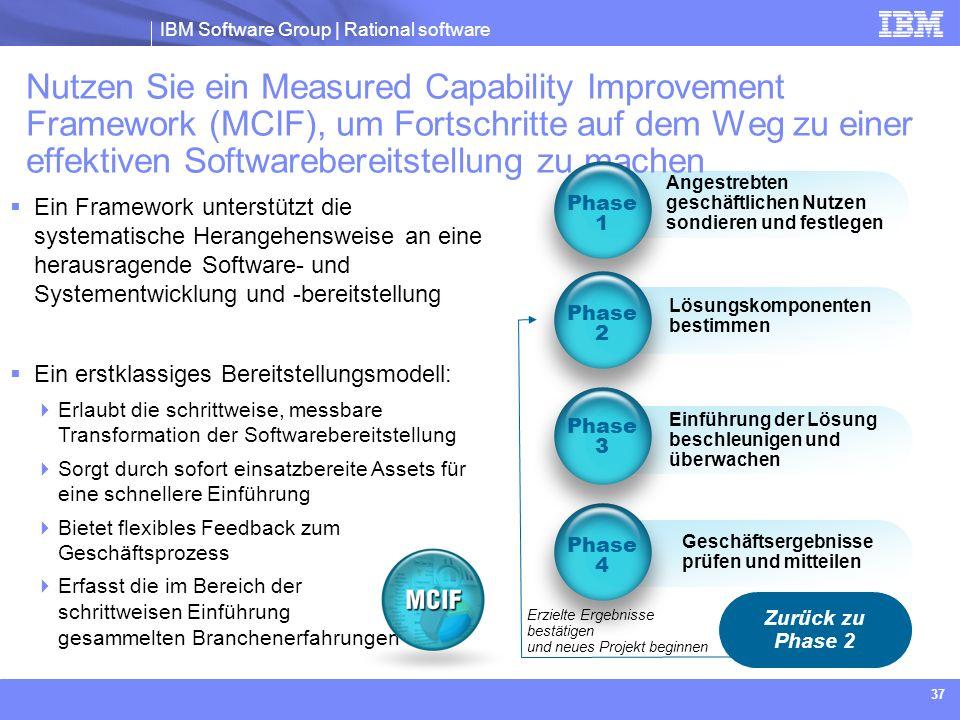 Nutzen Sie ein Measured Capability Improvement Framework (MCIF), um Fortschritte auf dem Weg zu einer effektiven Softwarebereitstellung zu machen