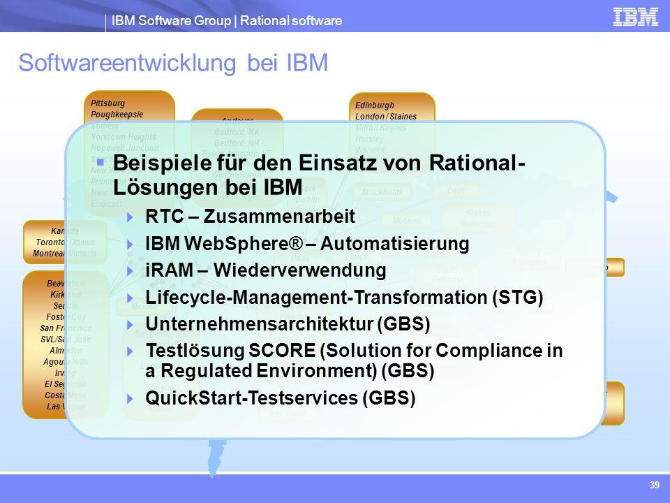 Softwareentwicklung bei IBM