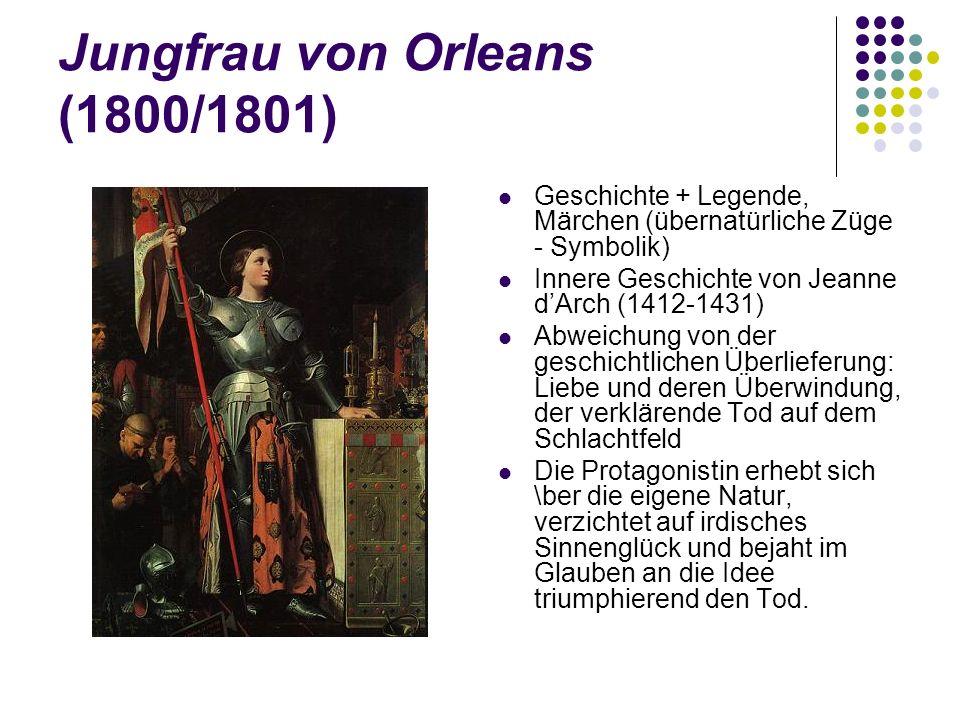 Jungfrau von Orleans (1800/1801)