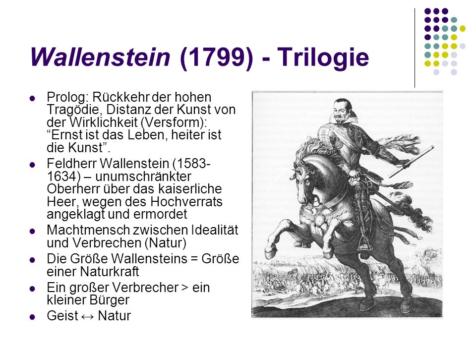 Wallenstein (1799) - Trilogie