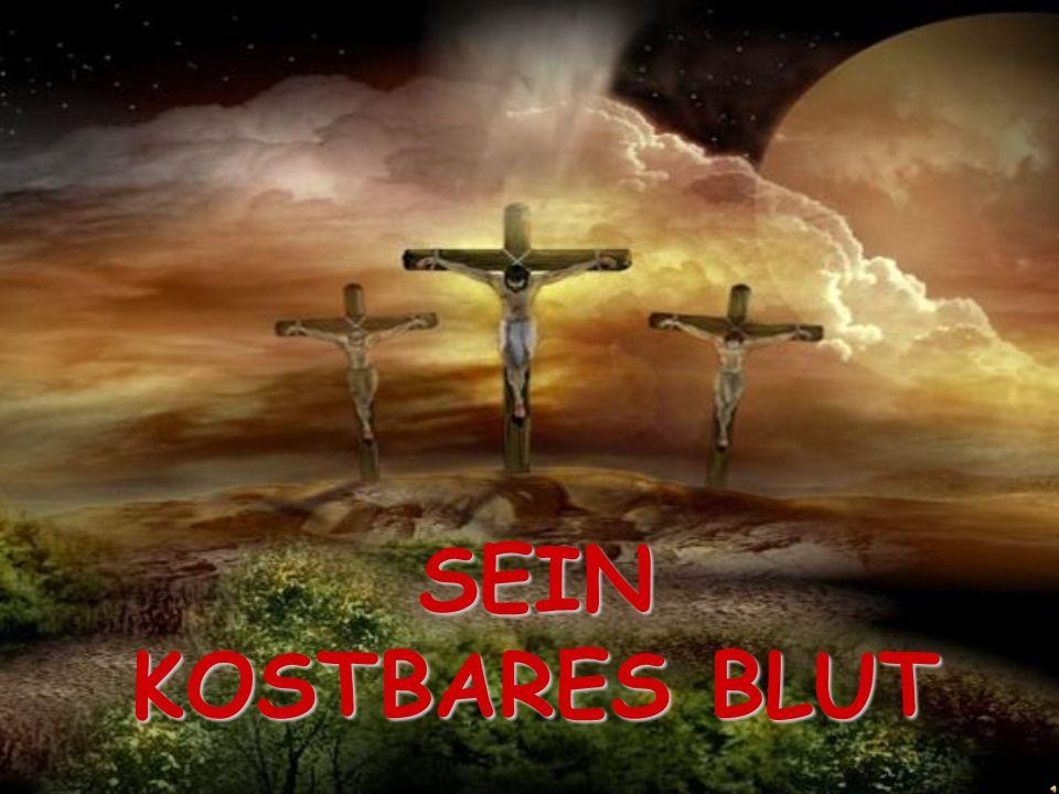 SEIN KOSTBARES BLUT