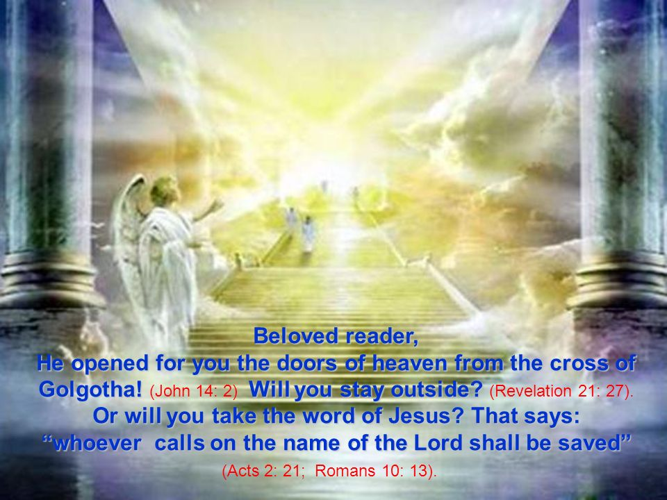 whoever calls on the name of the Lord shall be saved