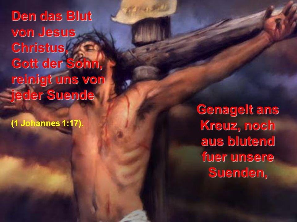 Genagelt ans Kreuz, noch