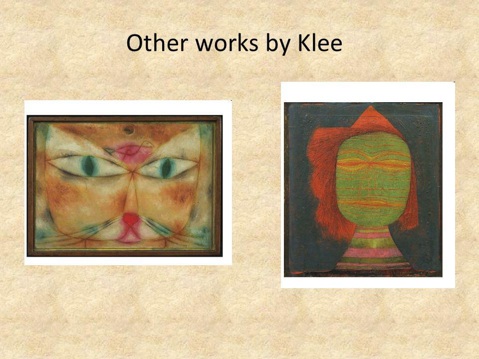 Other works by Klee